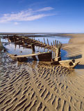 Star of Hope, bow. Shipwreck 1883, Southport Stock Photography
