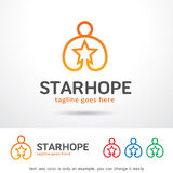 Star Hope Logo Template Design Vector Royalty Free Stock Photography