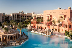 5 star Hotel, Hurghada, Egypt Royalty Free Stock Images