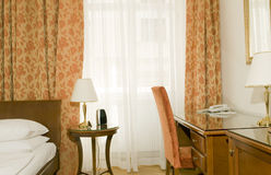 4 star hotel room Vienna Austria Stock Photo