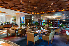 5star hotels buffet restaurant Royalty Free Stock Images