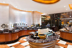 5star hotels buffet restaurant Royalty Free Stock Photography