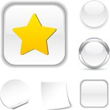 Star  icon. Stock Images