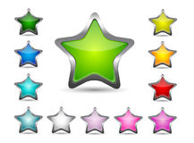 Star icon Stock Photography