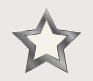 Star icon illustrated royalty free illustration