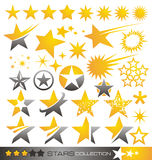 Star icon and logo collection Royalty Free Stock Photography