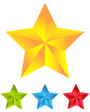 Star icon for rating, ranking, quality concepts Stock Image