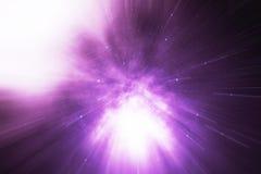 Star il filo di ordito o l'iperspazio, filo di ordito astratto del tunnel della velocità nello spazio Attraverso l'universo, rapp Immagine Stock Libera da Diritti