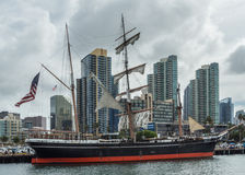 The Star of India against the San Diego Skyline Stock Photography