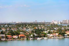 Star Island In Miami Stock Photography