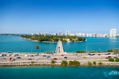 Star Island  Miami Beach Stock Image