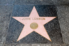 The  star of  John Lennon Stock Image