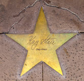Star of Kay Starr  on sidewalk Royalty Free Stock Image