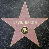 The star of Kevin Becon Royalty Free Stock Image