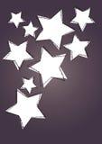 Star Kunsthintergrund Lizenzfreies Stockfoto