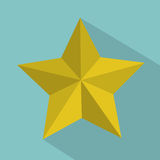 Star label Stock Photo