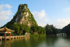 The Star Lake 6(in Zhaoqing,China) Royalty Free Stock Photography