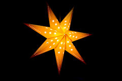 Star lampshade Stock Photography