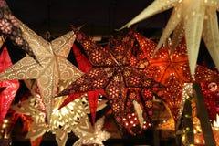 Star lanterns. A background of star lanterns. Star lanterns . A background of star lanterns stock photos