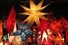 Star lanterns Royalty Free Stock Photos