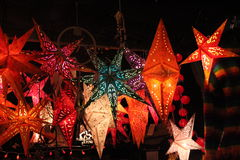 Star lanterns Royalty Free Stock Photography