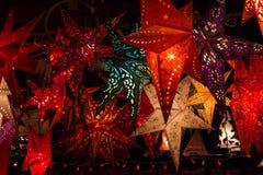 Star lanterns Stock Photography
