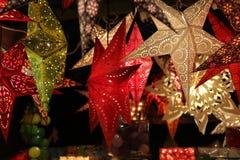 Star lanterns. A background of star lanterns. Star lanterns . A background of star lanterns stock image