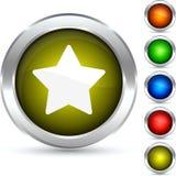 Star le bouton. Image libre de droits
