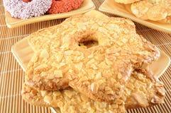 Star les biscuits Photos libres de droits