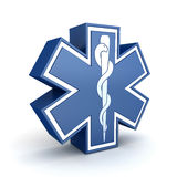 Star of life Royalty Free Stock Image