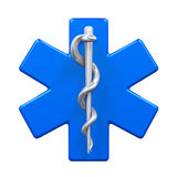 Star of Life Symbol Royalty Free Stock Photography