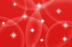 Star light with red background Royalty Free Stock Photo