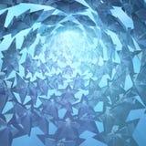 Star Light Tunnel Royalty Free Stock Photos