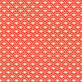 Star Light Wave Red Seamless Pattern Royalty Free Stock Photo