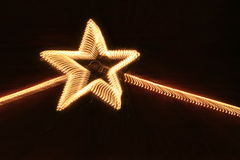 Star of lights Royalty Free Stock Image