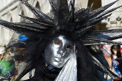 A star like mask in black Royalty Free Stock Photography