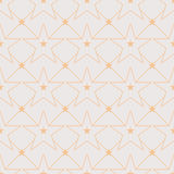 Star line out symmetry seamless pattern Stock Images