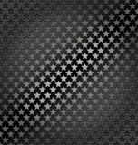 Star lite seamless dynamic metal background Royalty Free Stock Images