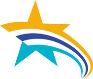 Star logo Stock Photography