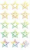 Star Logo Vector Royalty Free Stock Image