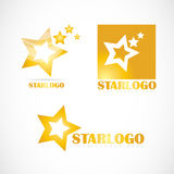 Star logo set company Stock Photos