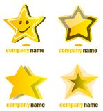 Star logo Royalty Free Stock Photography
