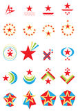 Star Logo Set_eps Stock Photo