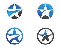 Star Logo and symbols icons Template app Stock Images