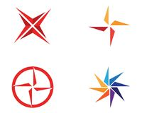Star Logo and symbols Template icons app Royalty Free Stock Photo