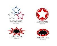 Star Logo Template.  vector illustration