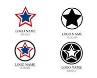 Star Logo Template.  stock illustration