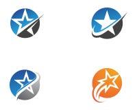Star Logo Template vector icon illustration design. Star Logo and symbols Template vector icon illustration design stock illustration