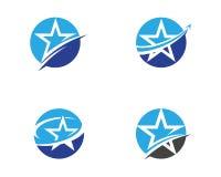 Star Logo Template vector icon. Illustration design royalty free illustration