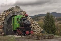 starą lokomotywę Obrazy Stock